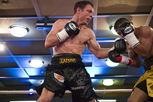 Katsidis triumphant in return, George flattens Craddock