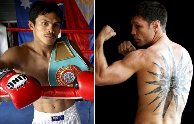 Opponents for Katsidis and Asis confident of upsets