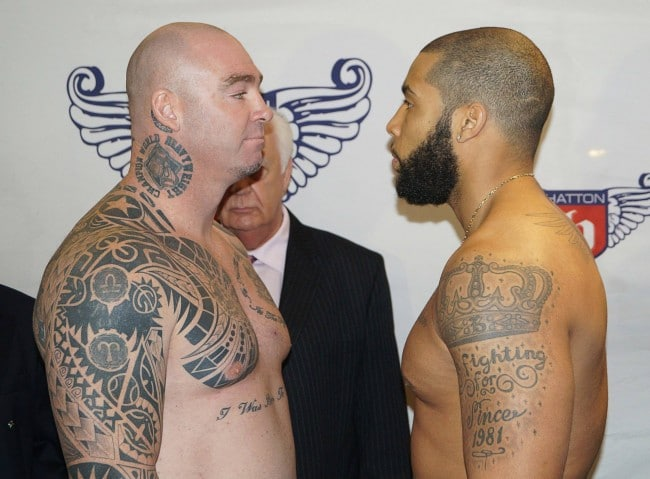 VIDEO: Browne and Bahoeli make weight for Commonwealth title clash