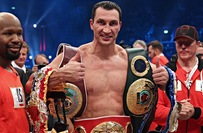 Klitschko halts Leapai in five one-sided rounds