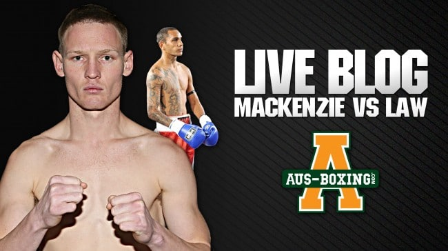 Live Blog: Kye MacKenzie vs. Waylon Law
