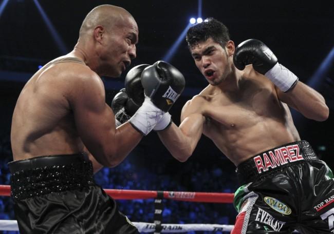 Junior Talipeau flattened by Gilberto Ramirez in Macau