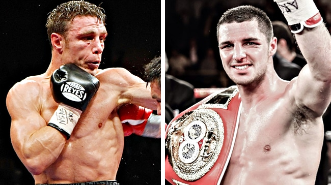 Michael Katsidis signs for Tommy Coyle test in 'Point of No Return'
