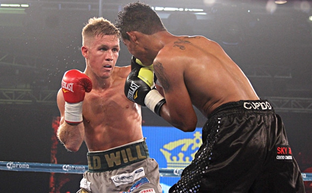 Will Tomlinson talks US experience, chasing Francisco Vargas