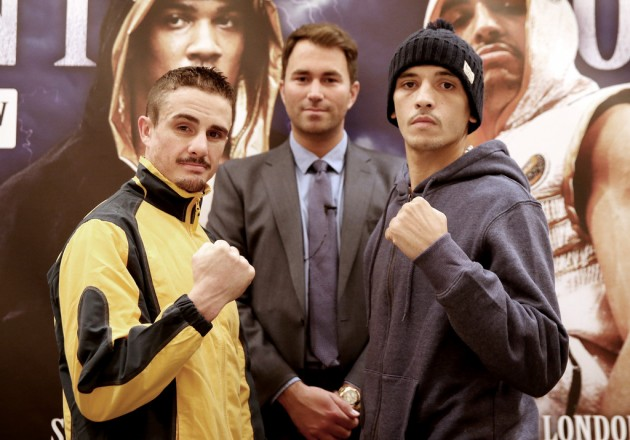 Weigh-In Results: Joel Brunker 56.88 vs. Lee Selby 56.97
