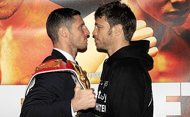 Weigh-In Results: Tommy Coyle 134, Michael Katsidis 134.5