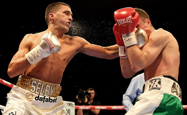 Brave Brunker downed in nine by Selby in IBF title eliminator