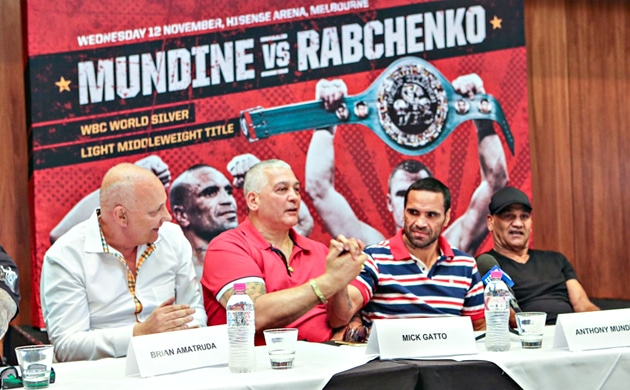 Brian Amatruda talks Mundine vs. Rabchenko, plans for 'The Bashes'