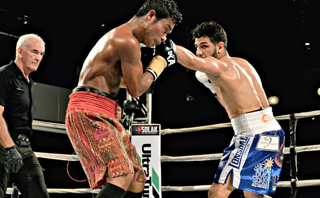 Billy Dib continues rise, dismantles Ruben Manakane in eight