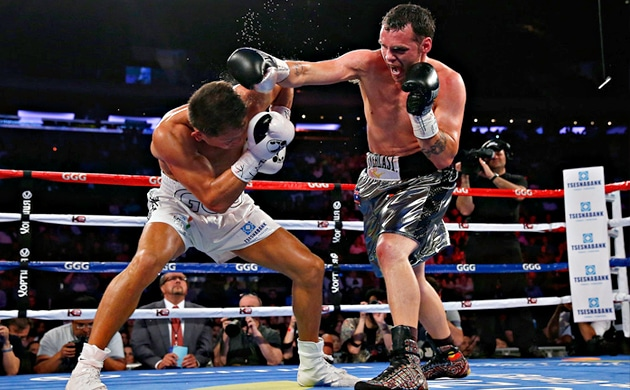 Daniel Geale on Fletcher test, Golovkin loss and middleweight division