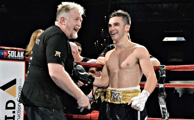 "Andrew Moloney – ""If I could fight every week, I'd fight every week"""