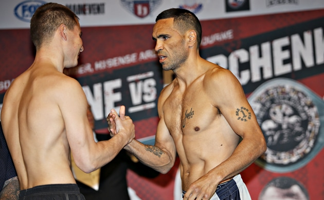 Weigh-In Results: Mundine 69.7, Rabchenko 69.2