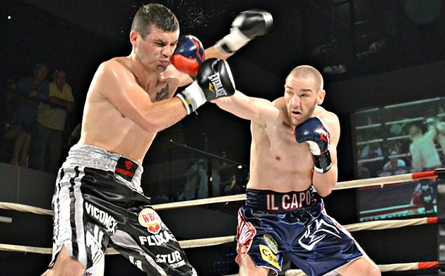 Blake Caparello cruises to shutout win over Maximiliano Gomez