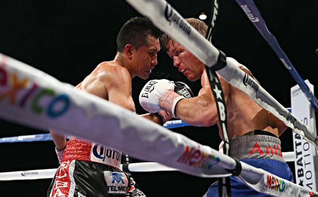Valiant Tomlinson succumbs to Vargas enslaught in eight