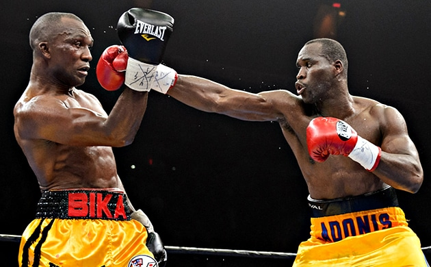 Stevenson proves too slick for Bika, cruises to unanimous points win