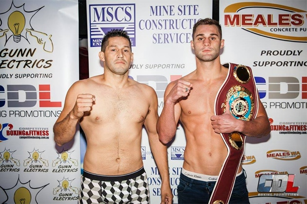 Weigh-In Results: Nathaniel May 57.15 vs. Lloyd Jardeliza 56.90