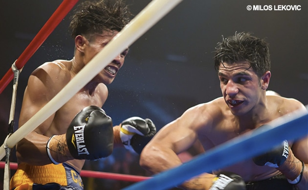 Team Asis send official fight contract to Billy Dib