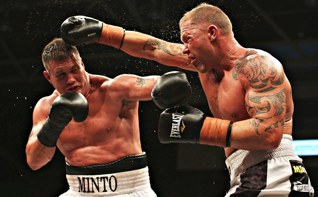 Brian Minto signs with Xcite Fight, calls for Danny Green