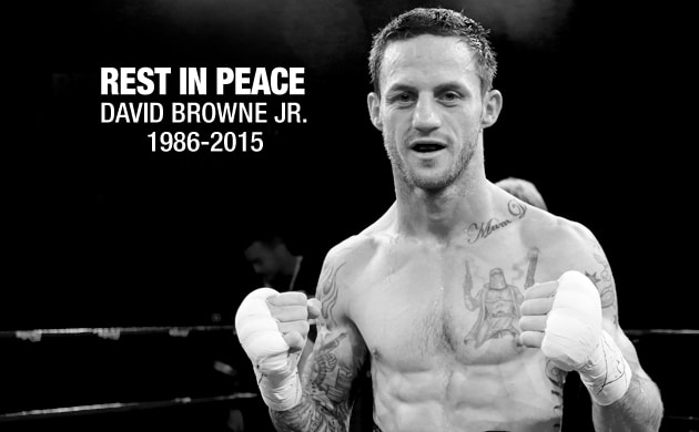 Australian boxers pay tribute to David Browne Jr.