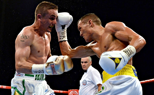 Brave Brunker drops shutout decision to Warrington