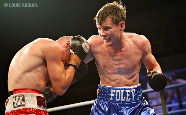 "Darragh Foley: ""I am the number one lightweight in Australia"""