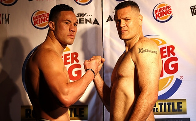 Weigh-In Results: Kali Meehan 110.60 vs. Joseph Parker 107.00