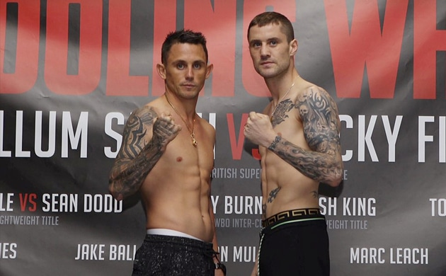 Weigh-In Results: Ricky Burns vs. Josh King