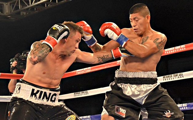 "Josh King: ""My style is all wrong for Ricky Burns"""