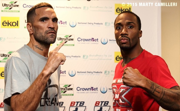 Weigh-In Results: Anthony Mundine 69.55 vs. Charles Hatley 69.75
