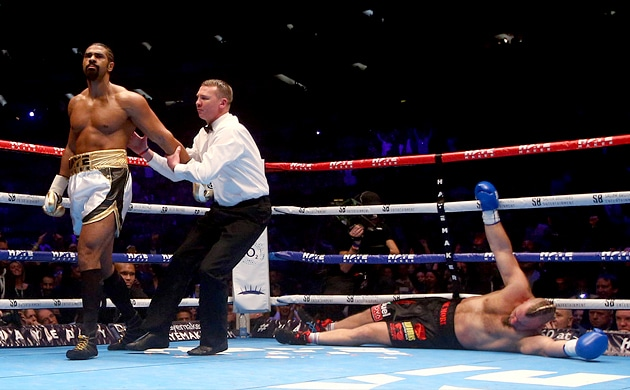 David Haye obliterates Mark De Mori in one round blowout