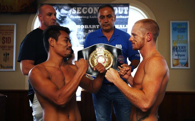 Weigh-In Results: Luke Jackson 57.00 vs. John Mark Apolinario 56.60