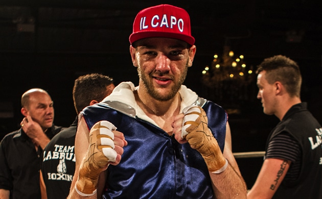 "Blake Caparello: ""Winning this fight will open a lot of doors"""