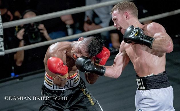 Will Tomlinson outscores game Hero Tito in return fight