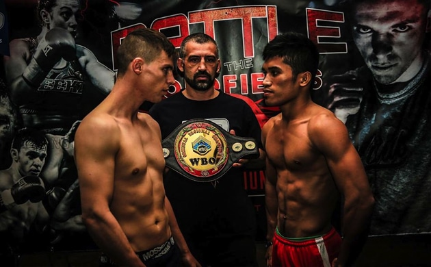 Weigh-In Results: Ibrahim Balla 58.30 vs. Neil John Tabanao 57.10