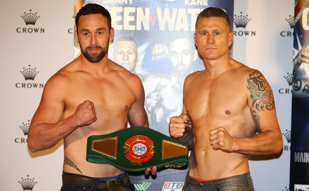 Weigh-In Results: Danny Green 86.15 vs. Kane Watts 89.90