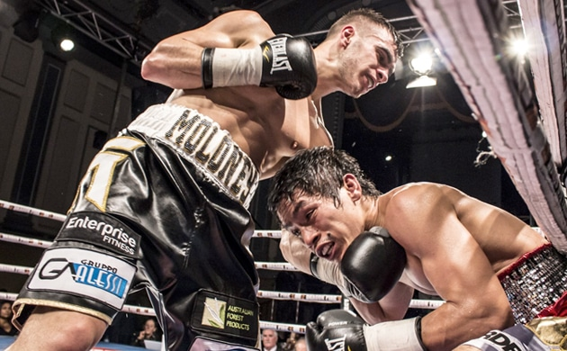 Andrew Moloney talks recent form, facing Jether Oliva and more
