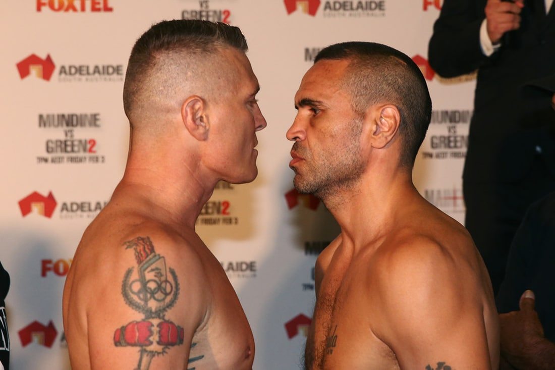 Live Blog: Anthony Mundine vs. Danny Green 2
