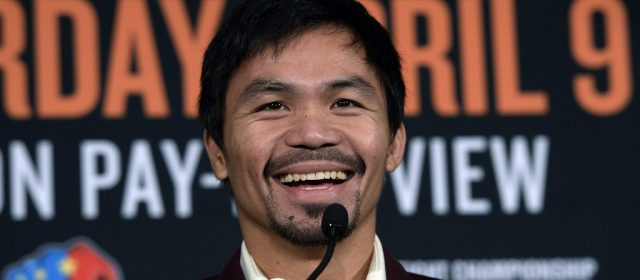 Manny Pacquiao hits Brisbane, promoter promises big event