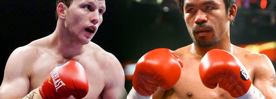 Manny Pacquiao vs. Jeff Horn confirmed for July 2nd