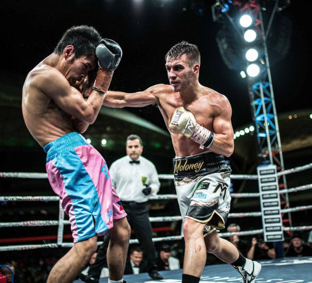 Andrew Moloney talks improvement between fights and removing distractions