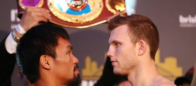 Weigh-In Results: Manny Pacquiao 146 lbs vs. Jeff Horn 147 lbs