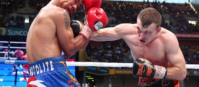 Jeff Horn dethrones Manny Pacquiao in memorable upset