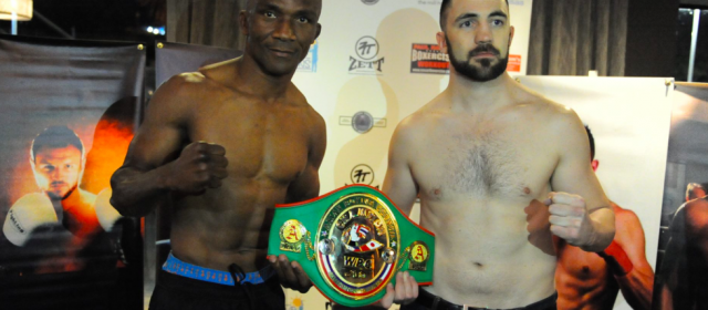 Weigh-In Results: Sakio Bika 75.20 vs. Luke Sharp 80.50