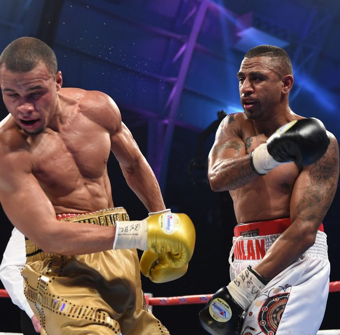 """Renold Quinlan warns Damien Hooper: """"I'll make you retire from boxing"""""""
