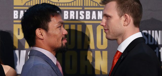 Dean Lonergan confirms likely Brisbane venue for Horn vs. Pacquiao rematch