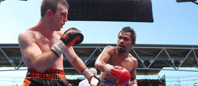 Jeff Horn and Manny Pacquiao inch closer to rematch