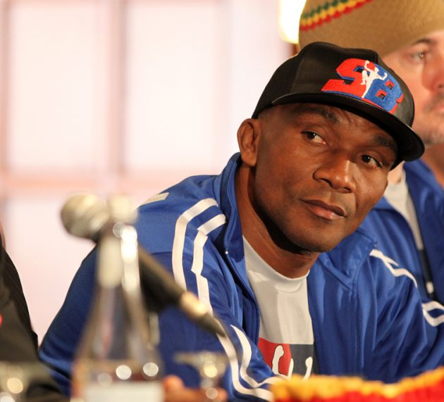 Sakio Bika headlines stacked card on October 28