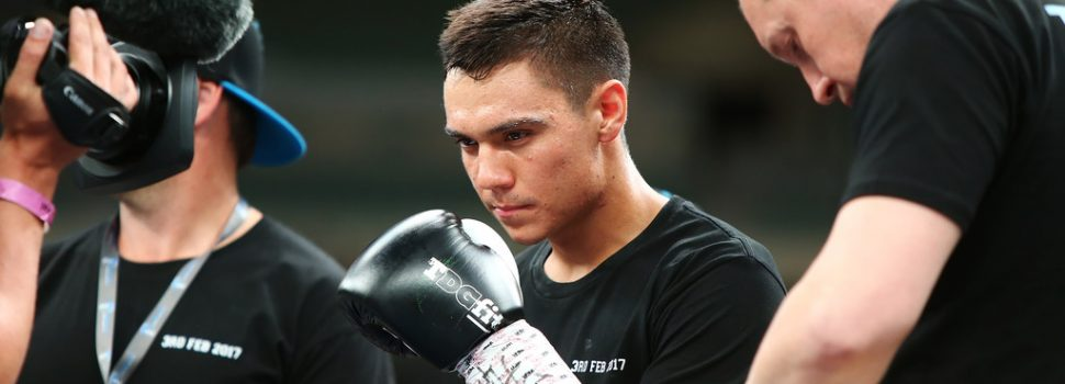 Tim Tszyu looking for first professional belt, Australian title honours