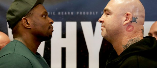 "Dillian Whyte: ""Browne keeps talking rubbish on social media"""