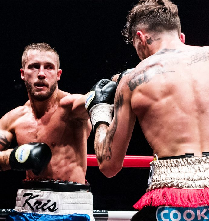 """Kris George: """"It's not all about flash and boxing ability"""""""